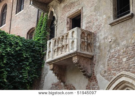 Balcony in Verona