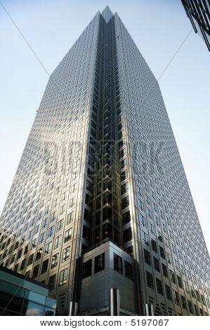 One Canada Square, Canary Wharf London England Uk