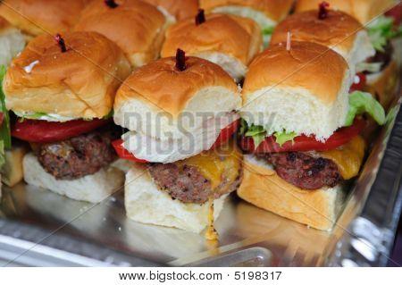 Mini Cheese Burgers