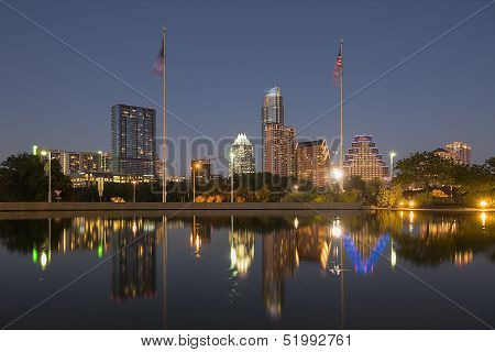 Austin at Night, Texas
