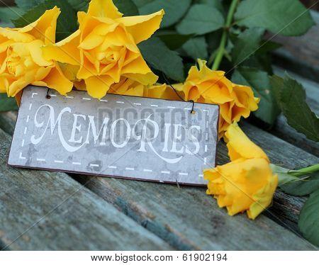 Yellow rose memories