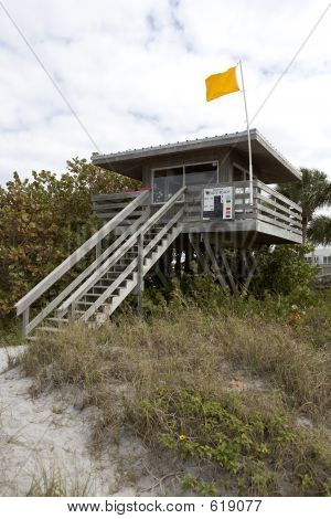 Lifeguard Station On Venice Beach