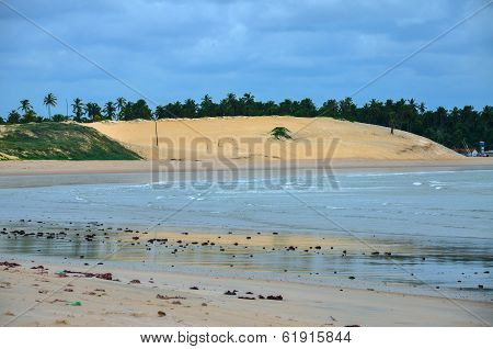 Beach Of Pititinga, Natal, Rio Grande Do Norte (brazil)