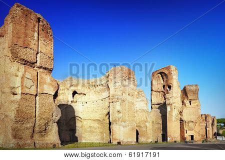 Thermae Of Caracalla