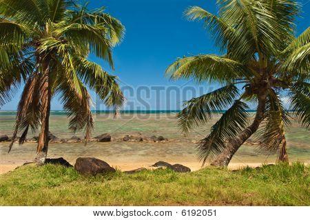 Anini Beach - Kauai. Hawaii