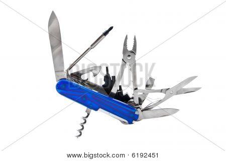 Blue Swiss Penknife