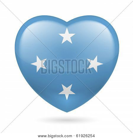 Heart icon of Micronesia