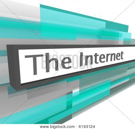 Internet Website Address Bar