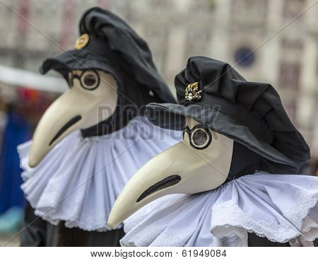 The Plague Doctor's Mask (medico Della Peste)