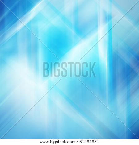 Colorful light effect, defocused background illustration with blue tones