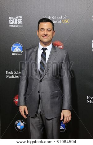 LOS ANGELES - MAR 20:  Jimmy Kimmel at the 2nd Annual Rebels With A Cause Gala at Paramount Studios on March 20, 2014 in Los Angeles, CA
