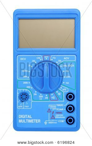 Multimeter With Lcd