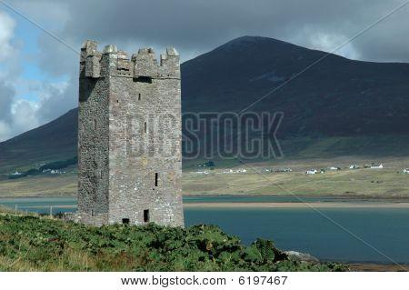 Old Irish Castle Tower