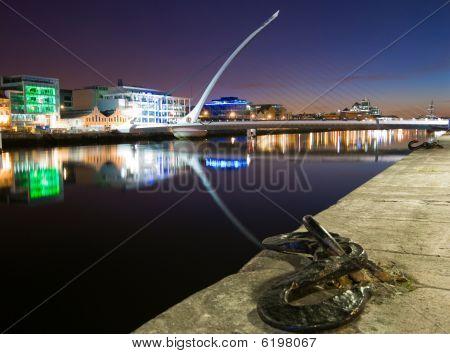 Dublin Docklands By Night