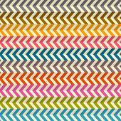 Seamless Abstract Colorful Toothed Zig Zag Paper Background poster