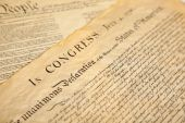The United States of America's Declaration of Independence poster