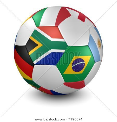 2010 Soccer Ball - Clipping Path