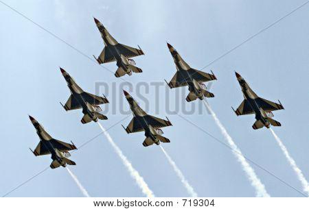 Airforce Thunderbirds-delta
