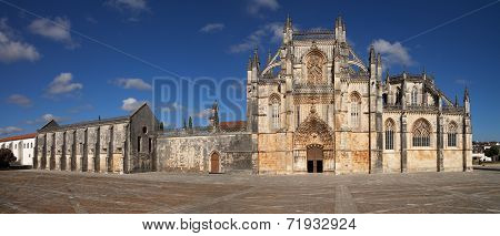 Batalha Monastery Facade.