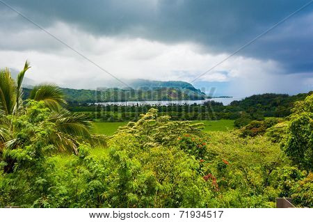 Hanalei Valley, Hawaii