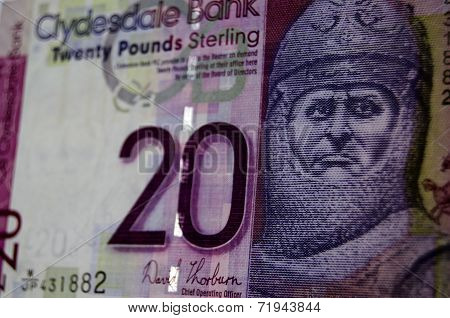 Robert the Bruce Banknote, Scotland