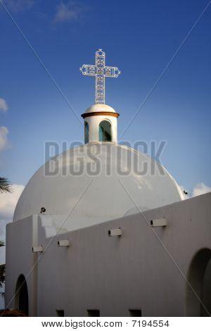 Mexico Church Steeple