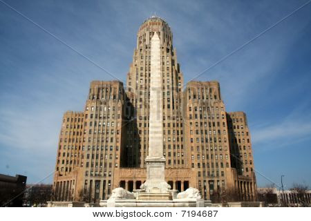 Buffalo City Hall Center View