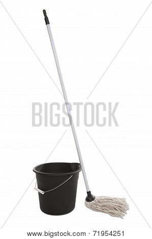 Bucket and Mop