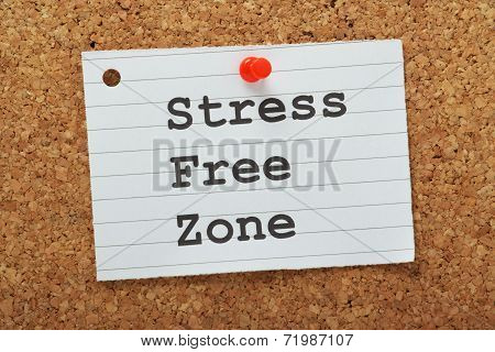 Stress Free Zone Reminder