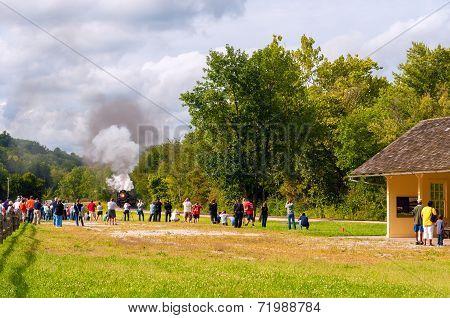 Steam Train Photo Op