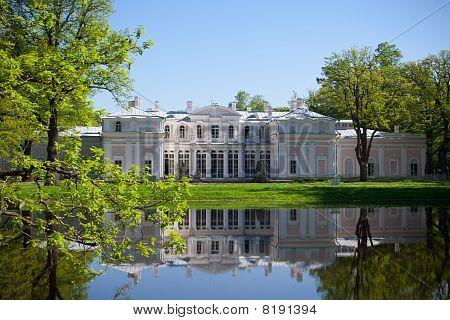 Chinese palace, Oranienbaum, Russia