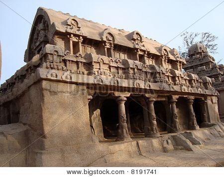 Bhima Ratha (Chariot) Mahabalipuram,India