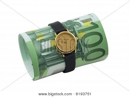 Conceptual Photo - Time Is Money