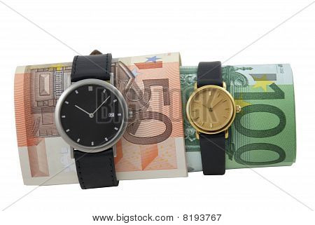 Conceptual Photo: Time Is Money