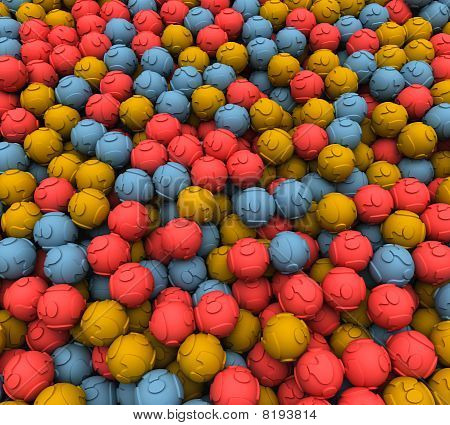Scattered Question balls