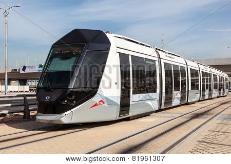 New Tram Service In Dubai