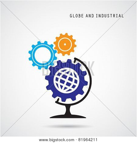 Creative Gear Abstract Vector Logo Design