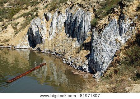 Lake In An Abandoned Salt Mine