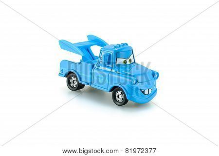 Tow Mater Plain Blue A Main Protagonist Of The Disney Pixar Feature Film Cars.