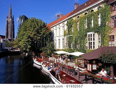 Hotel de Orangerie, Bruges.