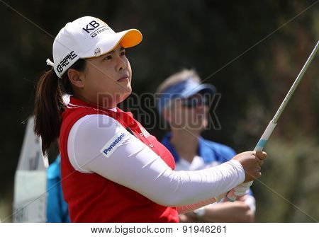 Inbee Park At The Ana Inspiration Golf Tournament 2015