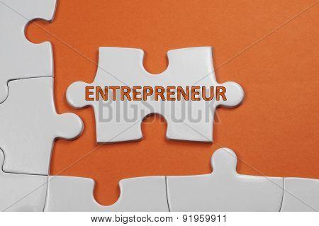 Entrepreneur Text - Business Concept