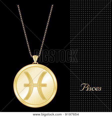Pisces Medallion