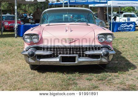 Cadillac Fleetwood Car On Display