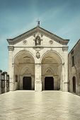 The wonderful Sanctuary of Monte Sant'Angelo sul Gargano Puglia Italy poster