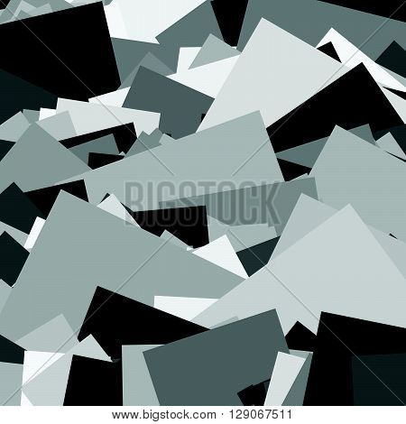 Random Shards, Splinters Abstract, Artistic Background / Pattern / Texture Set. Set 6 Variation.