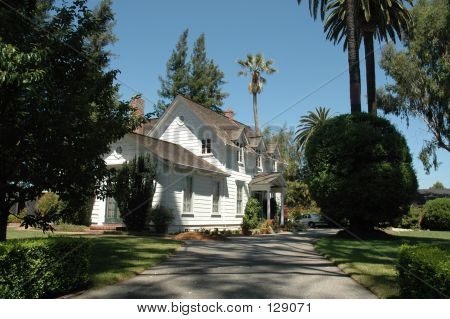 sunnyvale, california's oldest remaining house, built 1862 by william wright poster