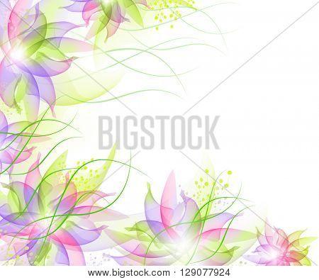 Best Romantic Flower Background