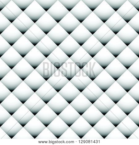 Seamlessly Repeatable Geometric Pattern With Shaded Squares