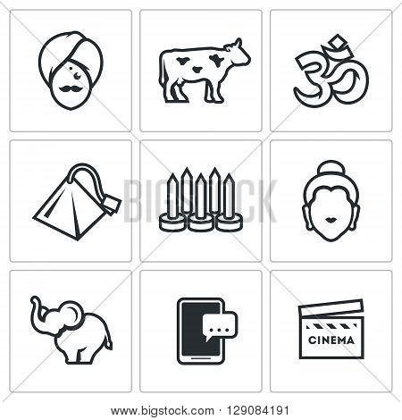 Man, Cow, Religion, Tea bag, Nails, Idol, Animal, Telephone, Cinema
